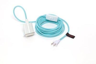 Câble plog-it Bleu Clair