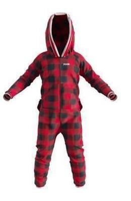Pyjama une-pièce pour enfant rouge