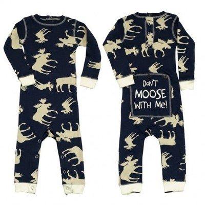 Pyjama Bébé ''flapjacks'' Classic Moose (Bleu)