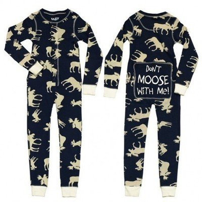 Pyjama Enfant ''flapjacks'' Classic Moose (Bleu)