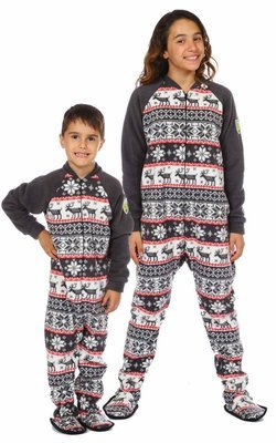 Pyjama à pattes bébé/enfant ''Cozy Cottage''