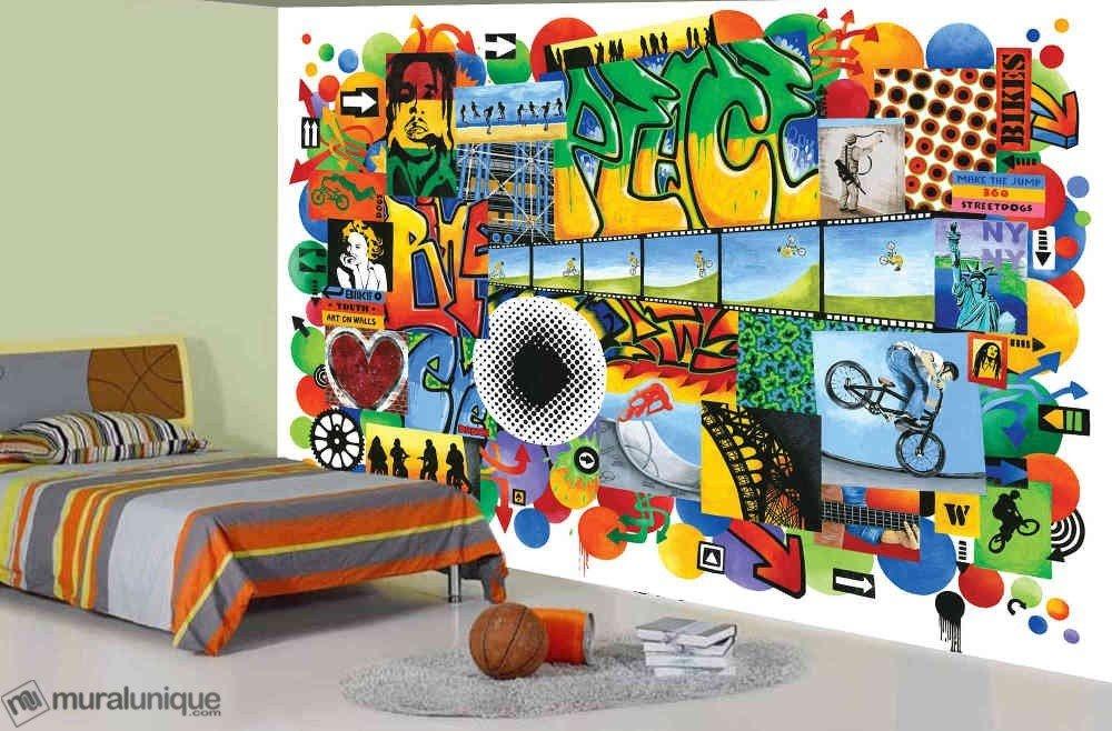 Murale PEACE 12' x 8'