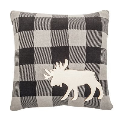Coussin Hunter Gris