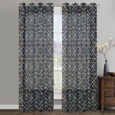 Panneau de rideau Diagonal (2 couleurs)