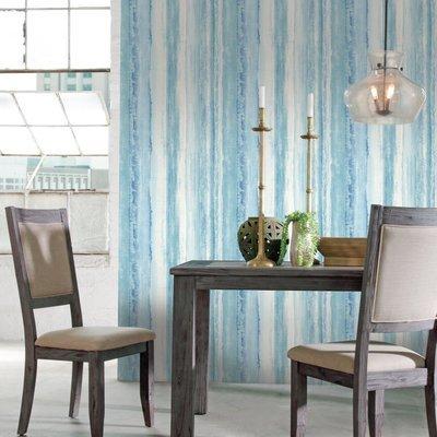 Aquarelle bleue (papier peint adhésif)