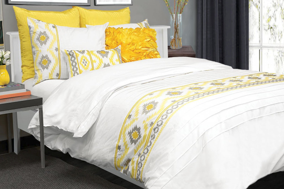 housse de duvet ikat jaya. Black Bedroom Furniture Sets. Home Design Ideas
