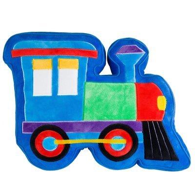 Coussin en peluche Train