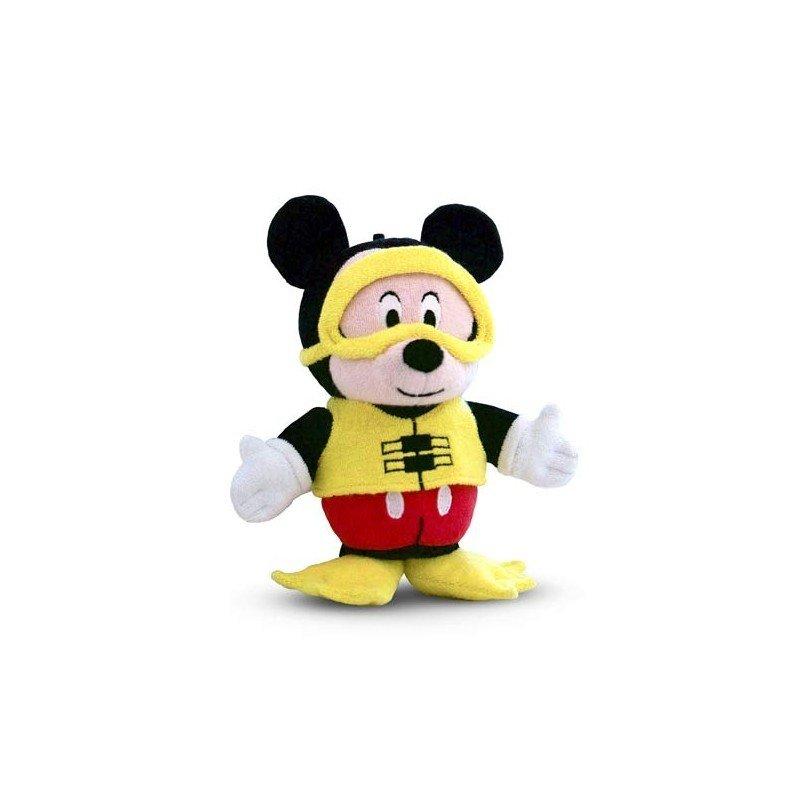 🔥 Débarbouillette en peluche - Mickey Mouse