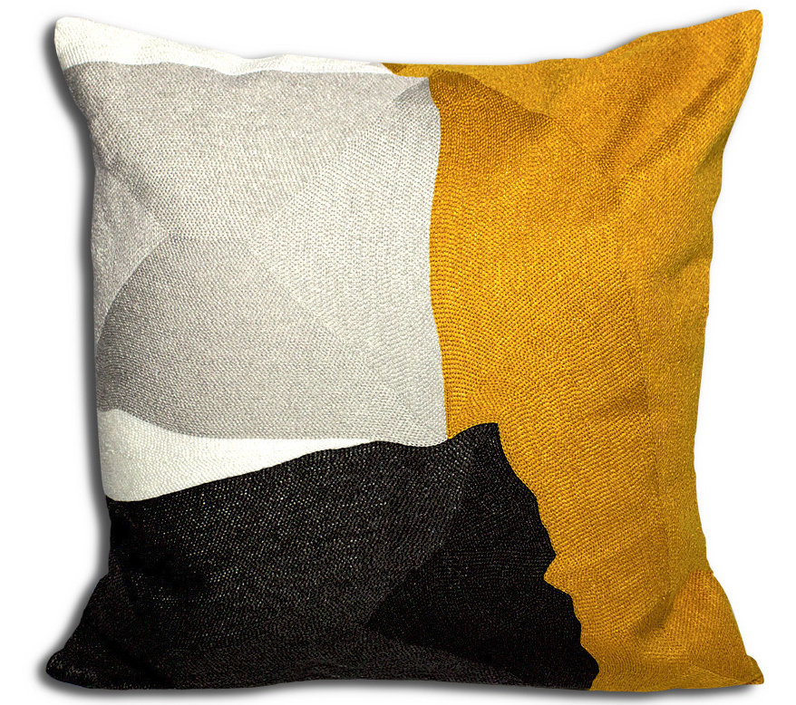 Coussin Sidley Jaune