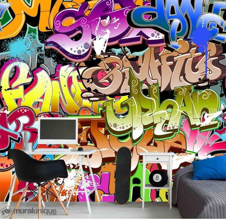 Murale Funky Hip-Hop 9' x 9'