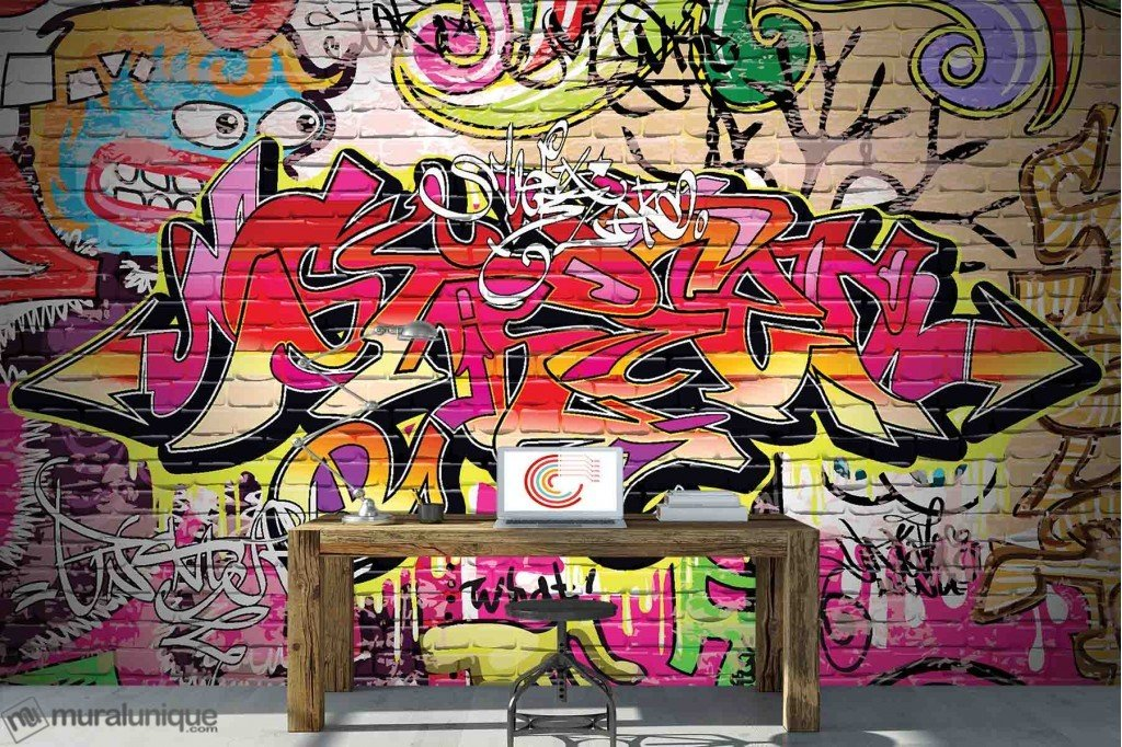 Murale Art Urbain 12' x 8'