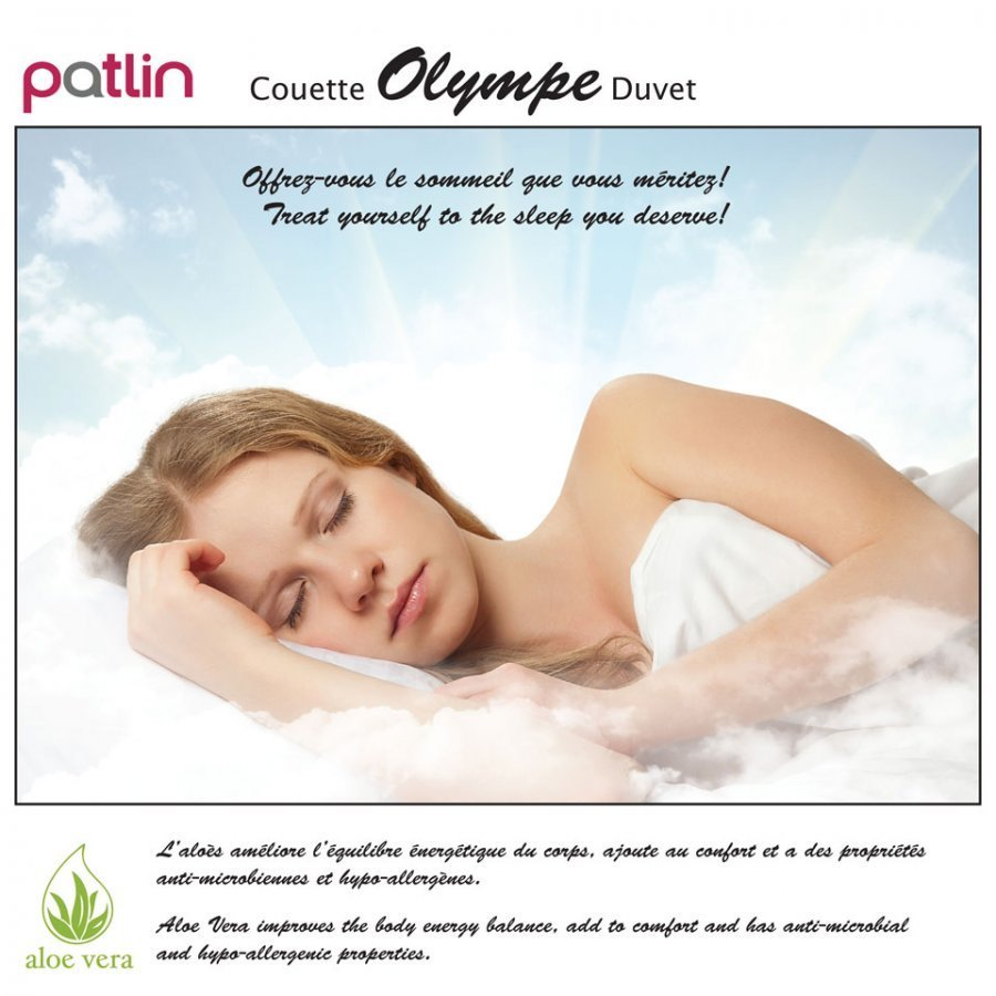 Couette 4 saisons Olympe (Aloe Vera)