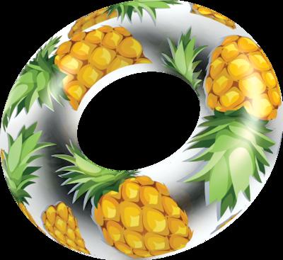 Tube flottant géant - Ananas