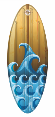 Planche de surf gonflable - Vague