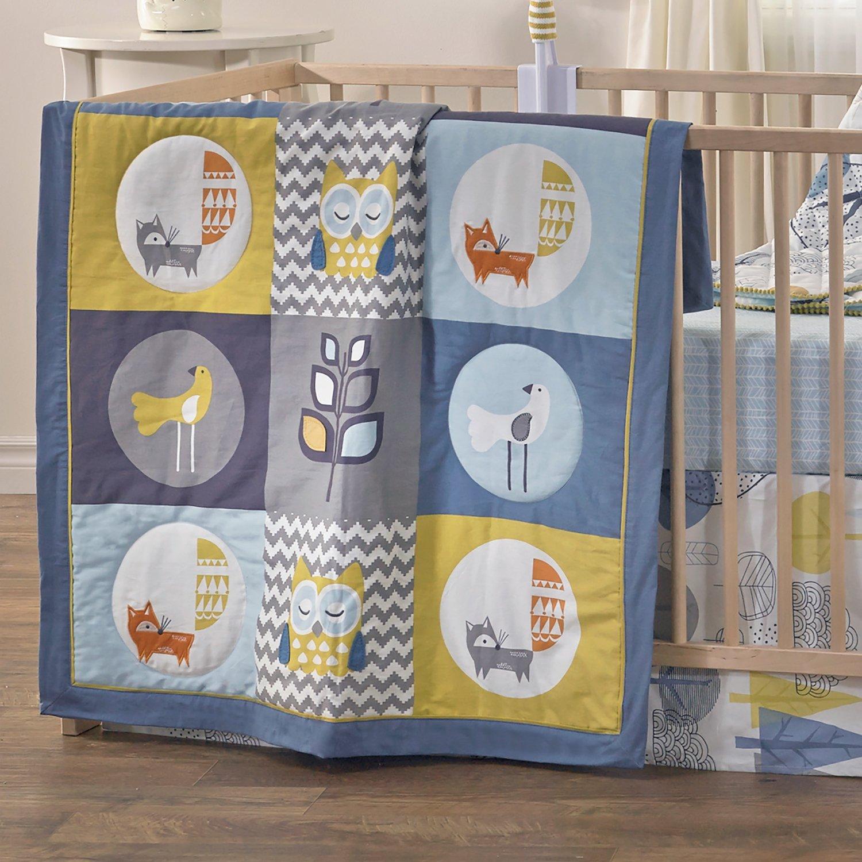 Ensemble de literie pour bébé 4pcs - Wood