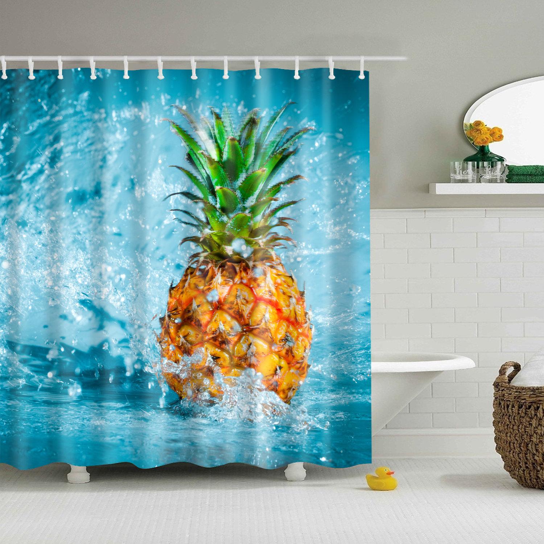 Rideau de douche - Ananas