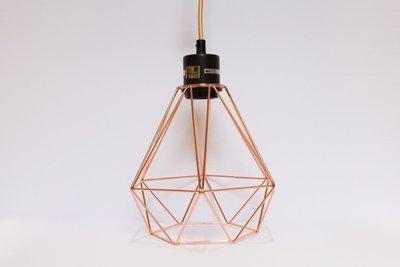 Cage géométrique copper