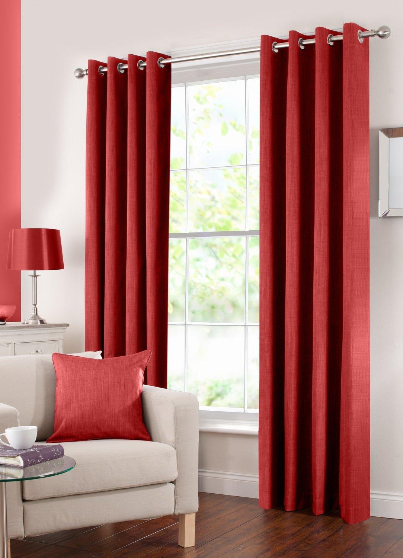 Panneau de rideau Assombrissant - Rouge