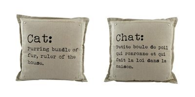 Coussin- Chat