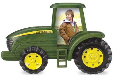 Cadre en bois - Tracteur John Deere