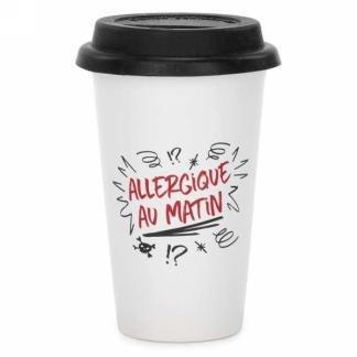 Tasse transport- Allergique au matin