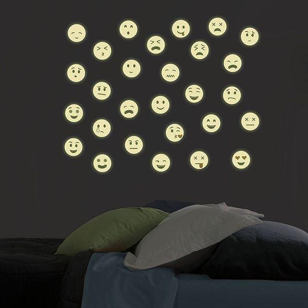 Emoji  (Brillent dans le noir)