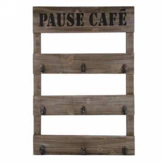Crochet au mur- Pause café