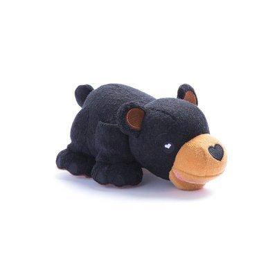 🔥 Débarbouillette en peluche - Ours Noir