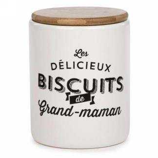 Pot de biscuit- Grand-Maman