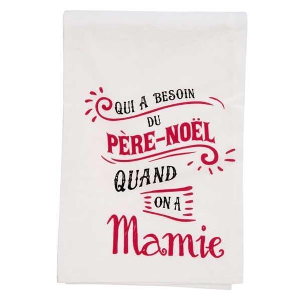 Linge à vaisselle- Mamie