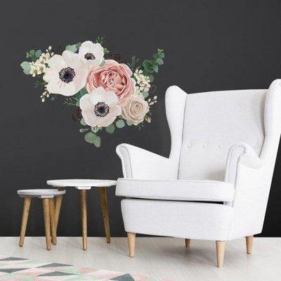 Collant mural Fleurs en aquarelle