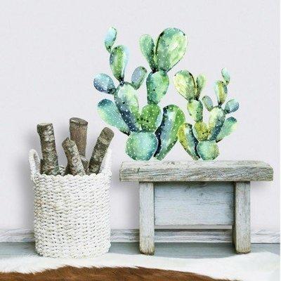 Collant mural Cactus en aquarelle