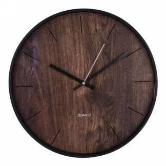 Horloge- Bois brun