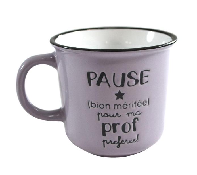 Tasse- Pause bien méritée