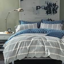 Housse de couette - Grey Stripe - QUEEN