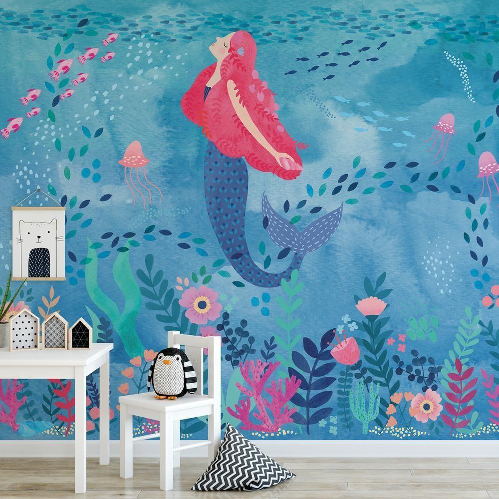 Grande murale - Sirène