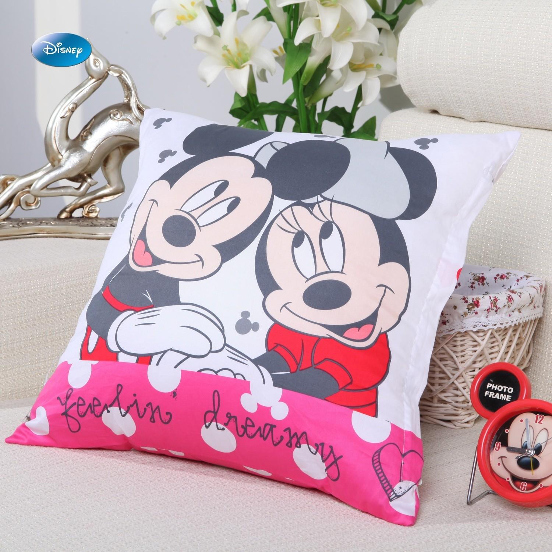 Housse de coussin Mickey et Minnie feelin' dreamy