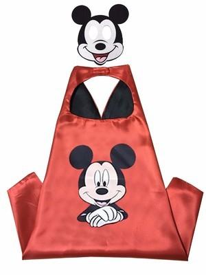 Cape et masque pour enfants Mickey Mouse