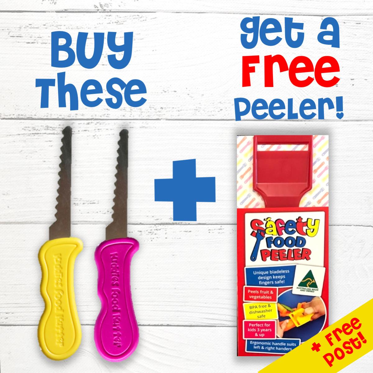 Pink + Yellow Kutter + FREE Peeler! KUTTER PROMO