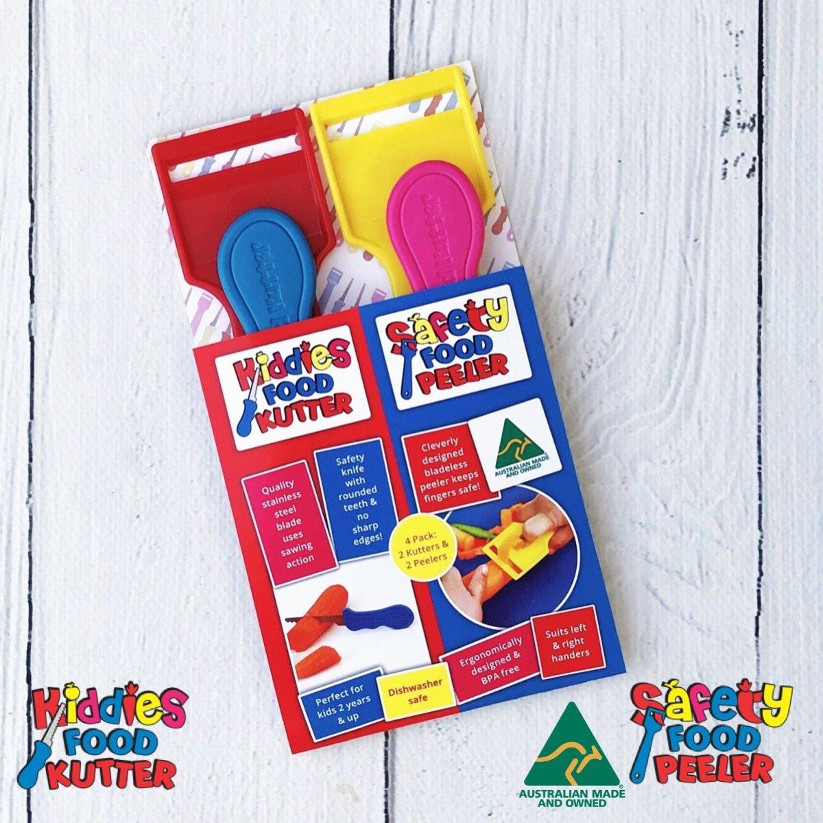 Kiddies Food Kutter 4 Pack