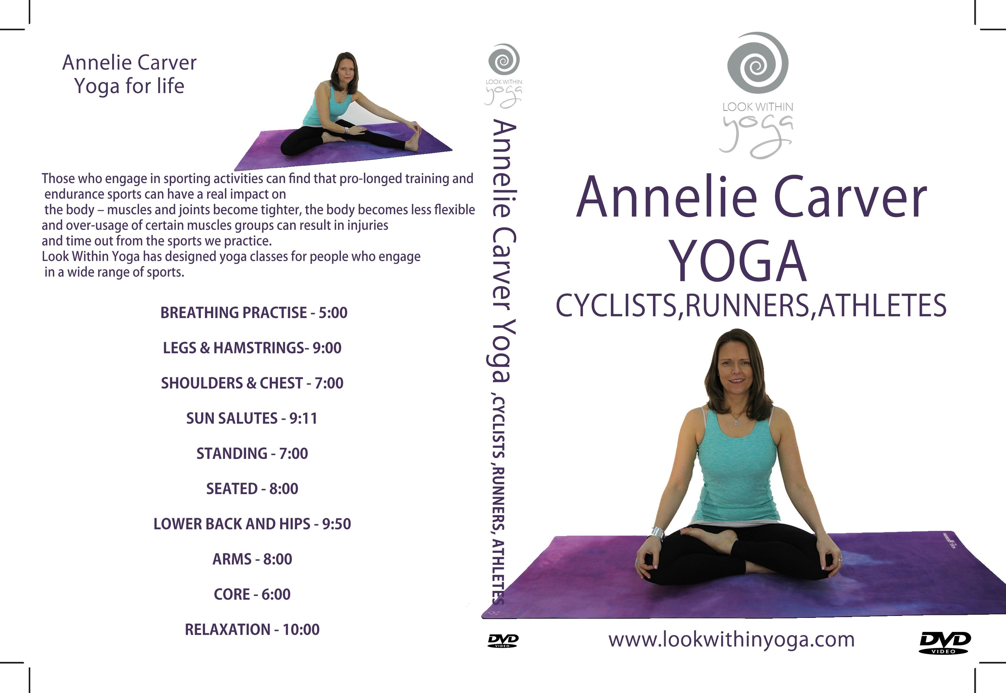 Yoga for Cyclists, Runners, Athletes DVD 00008