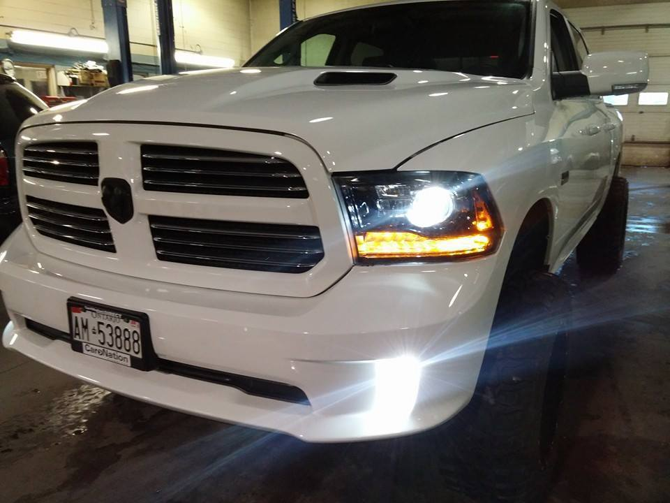Dodge Ram Led Projector Headlight Bulbs Mopar Decoder