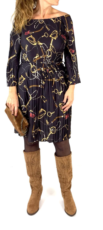 Vestido plisados LORCA