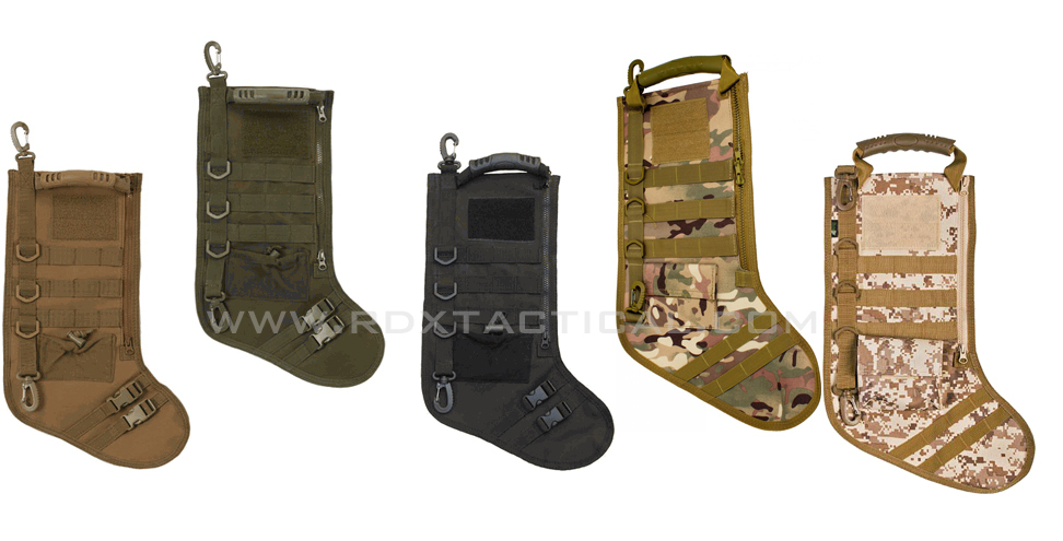 Tactical Christmas Stocking - Olive Drab