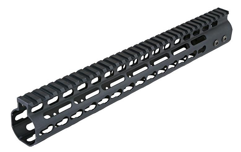 Key Mod Rail System 13.5 inch Black