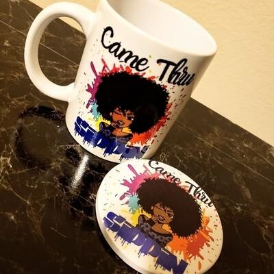 Came Thru Sippin Mug Set