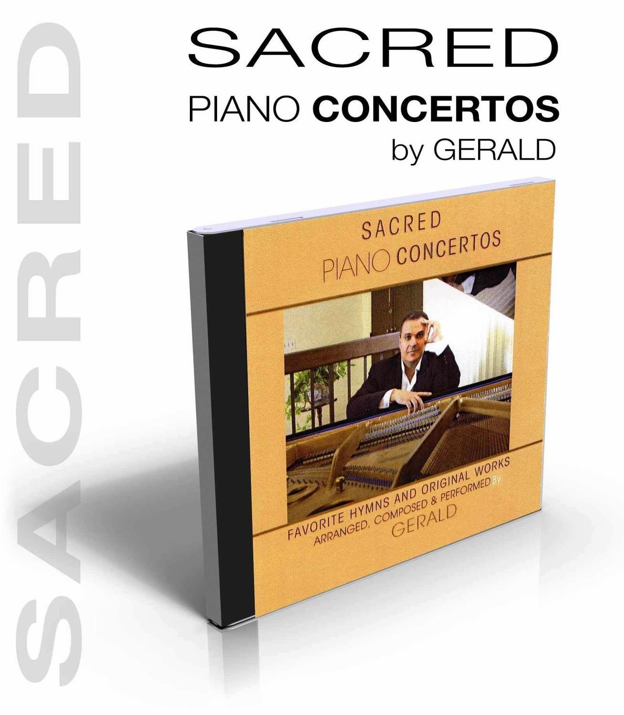 Sacred Piano Concertos by Gerald