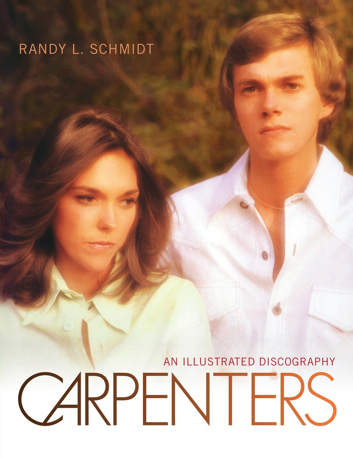 CARPENTERS: AN ILLUSTRATED DISCOGRAPHY - HARDCOVER (SIGNED)