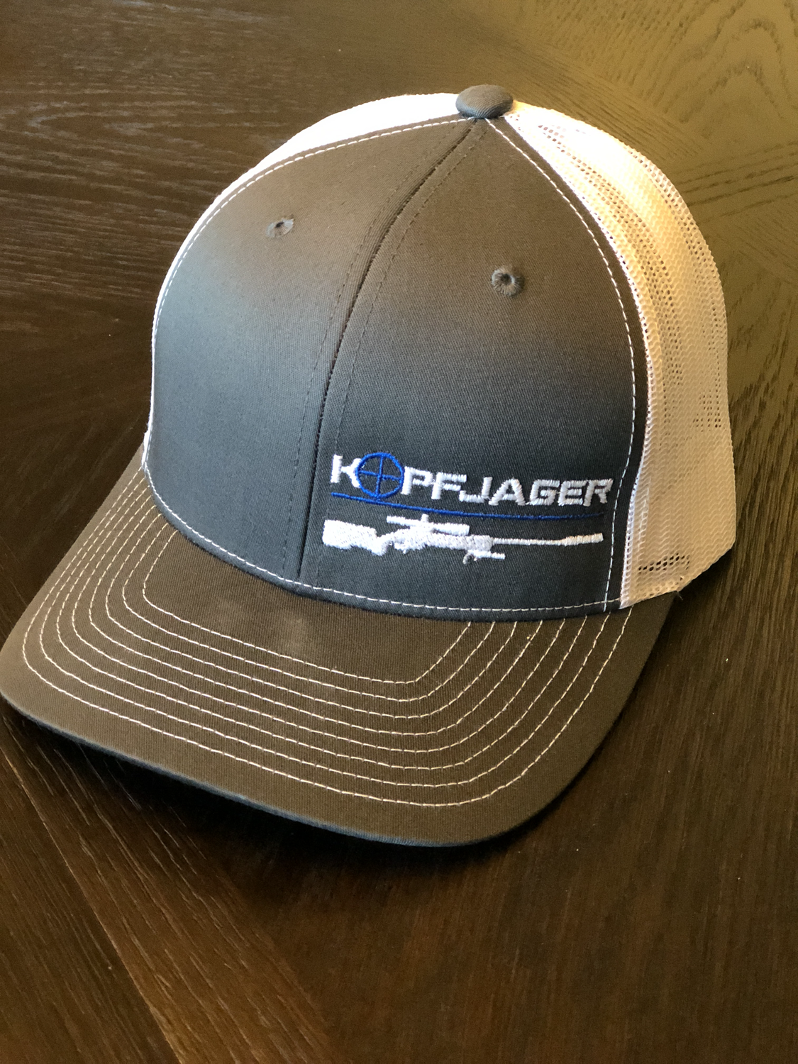 2a3fb216e Charcoal and White Richardson Trucker Hat