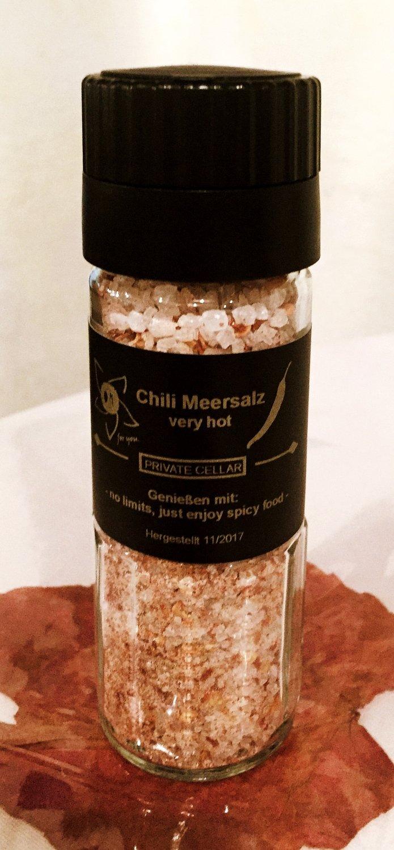 Meersalz mit Chili - very spicy!